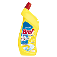 BREF WC gel 700ml Lemon Power