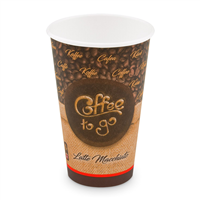 "Papírový kelímek ""Coffee to go"" 510 ml, XL (? 90 mm) [50 ks]"